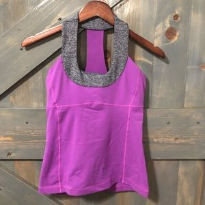 Lululemon Work Out Tank Top Size 6